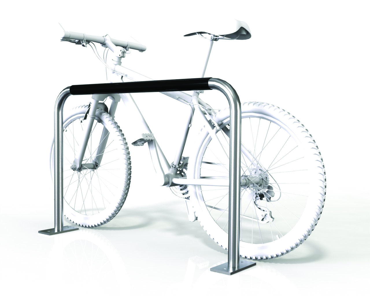 Large 2 Bike Rail - Base Plate